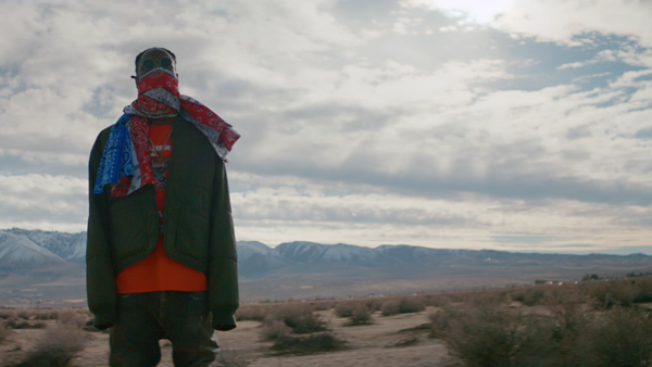 "Joey Bada$$ in the video for ""Land of the Free,"" which he co-directed with Nathan R. Smith."