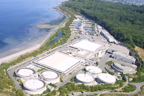 <p>The West Point Treatment Plant, which serves much of the Seattle metropolitan area.</p>
