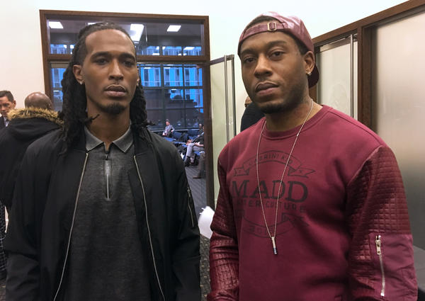 Former gang members Neil Snowden (left) and Niko Williams (right) say CeaseFire completely changed their lives along with their attitudes about violence and retaliation.