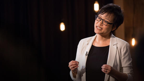 Ruth Chang on the TED Stage