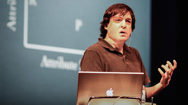 Dan Ariely on the TED Stage