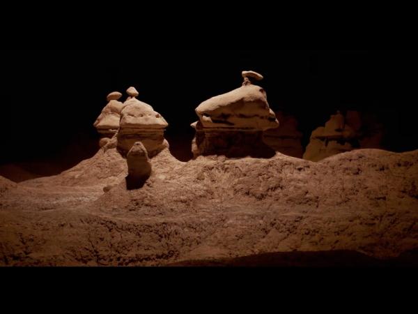 """The Hoodoo rock formations in Utah look like an alien planet in a new video for the Elliot Moss song """"Closedloop."""""""