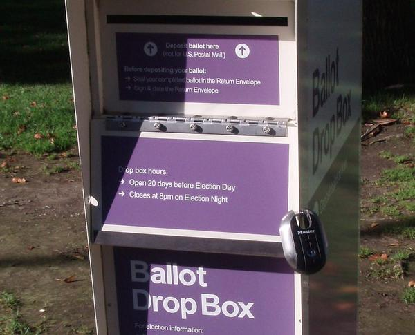 A bill in the Washington Legislature would make the removal, destruction or damage of a ballot drop box or its contents a class C felony.