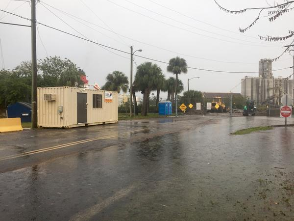 It's pouring rain in downtown Tampa. This type of rain could seriously stress local sewage systems, especially in the summer, says Justin Bloom, Executive Director of Suncoast Waterkeeper. That's exactly what happened last year after Hurricane Hermine.