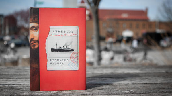 Cover photo of <em>Heretics, </em>by Leonardo Padura