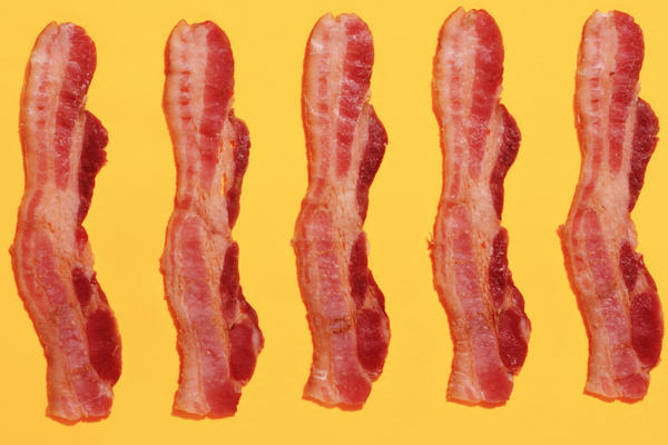 Consuming a diet that contains high amounts of red and processed meat such as bacon was linked to 8 percent of cardiometabolic deaths in the U.S.