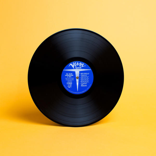 An original pressing of the album, from Satlof's collection.