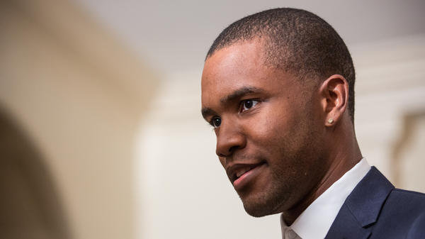 Frank Ocean at the White House in October 2016.
