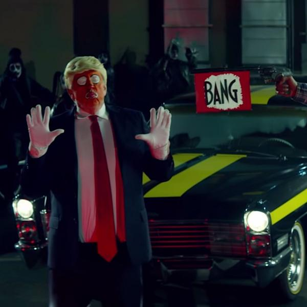 """Ronald Clump in the video for BADBADNOTGOOD's """"Lavender."""""""