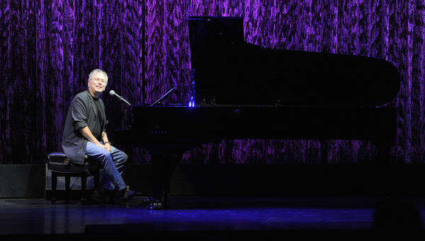 Alan Menken performs at the El Capitan Theatre on Oct. 2, 2010 in Los Angeles.