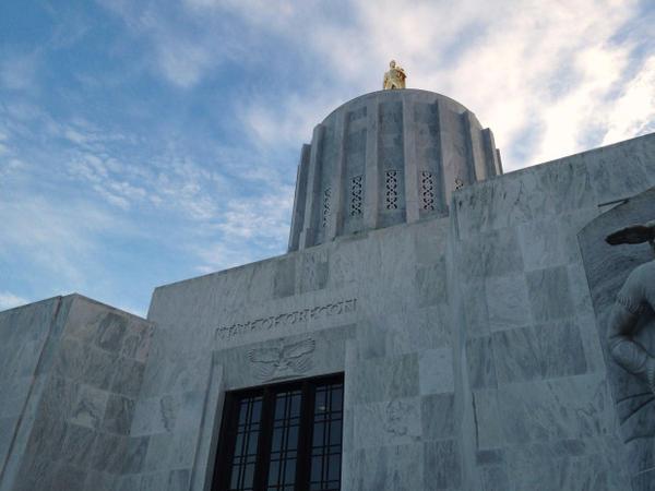<p>Oregon State Capitol</p>