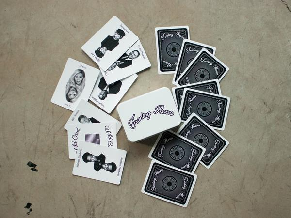 Trading Races, a new game by Kenyatta Forbes, asks players to talk about what it means to be black.
