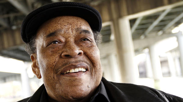Legendary harmonica player James Cotton, who died aged 81 after a 72-year-long career.