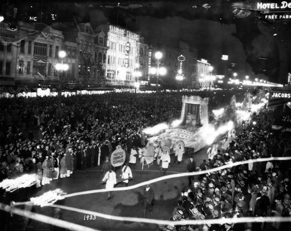 Mystick Krewe of Comus, 1933 Parade