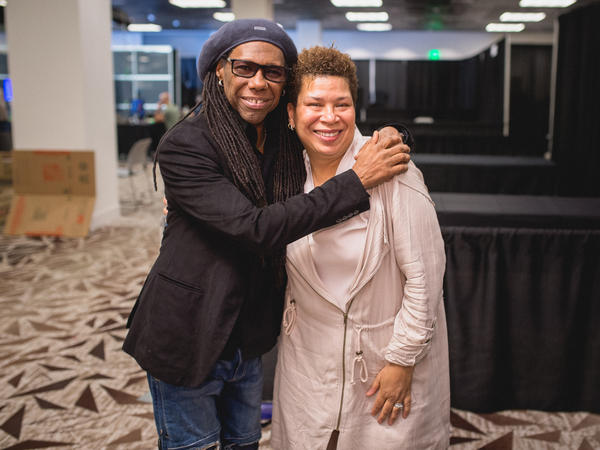 Nile Rodgers and Michel Martin spoke in Austin, shortly after Rodgers' SXSW keynote address.