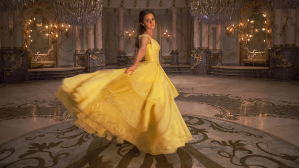 Emma Watson plays Belle in Disney's <em>Beauty and the Beast</em>, a live-action remake of the 1991 animated film.