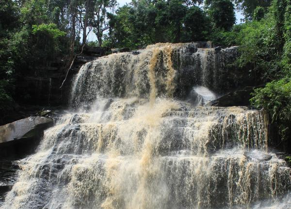 The deadly incident happened at Ghana's Kintampo Falls, pictured here in 2011.