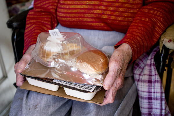Southern Maine Agency on Aging's Meals on Wheels program.