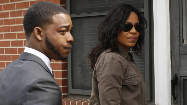 Stephan James and Sanaa Lathan star as federal investigators looking into a racially charged shooting in Fox's new limited series <em>Shots Fired</em>