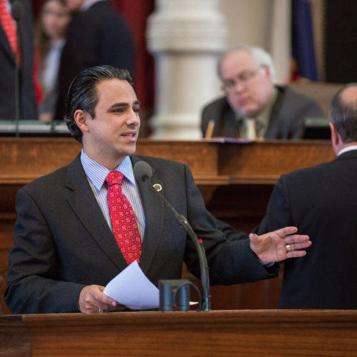 Rep. Terry Canales (D-Edinburg) says it's disrespectful to keep accent marks off of names that require them in state documents.