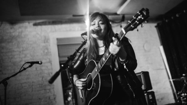"""A lot of people have backed me and believed in me and what I do — not because I'm an Asian chick, but because I sing and write songs,"" singer-songwriter Melissa Polinar says."
