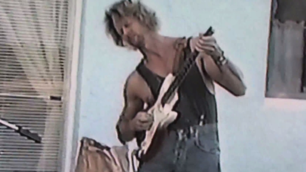 "Billy Yeager, in a still from a video on YouTube offering ""rare footage for sale."""