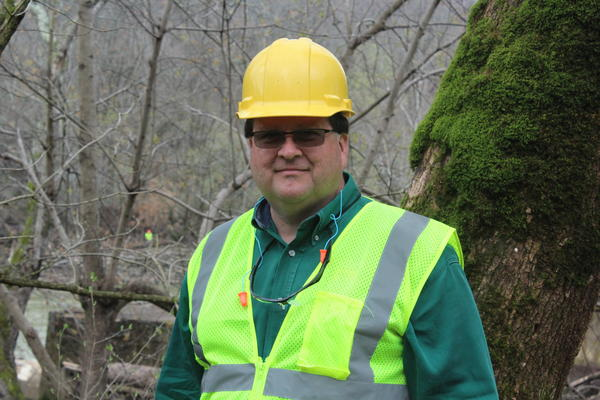 Lee Andrews, Kentucky Fish and Wildlife field office supervisor.