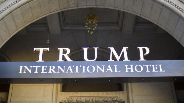 The Trump International Hotel in downtown Washington, D.C., opened in fall 2016.