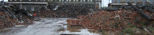 A Cleveland brownfield cleanup project