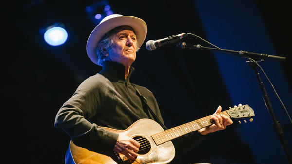 Rodney Crowell, live at <em>World Cafe</em>'s 25th anniversary concert in Philadelphia, Pa.