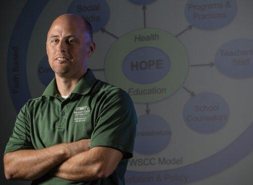 Wright State University Professor Kevin Lorson served on the opioid education panel, and says students today need more social and emotional guidance than hard facts about the dangers of drugs.