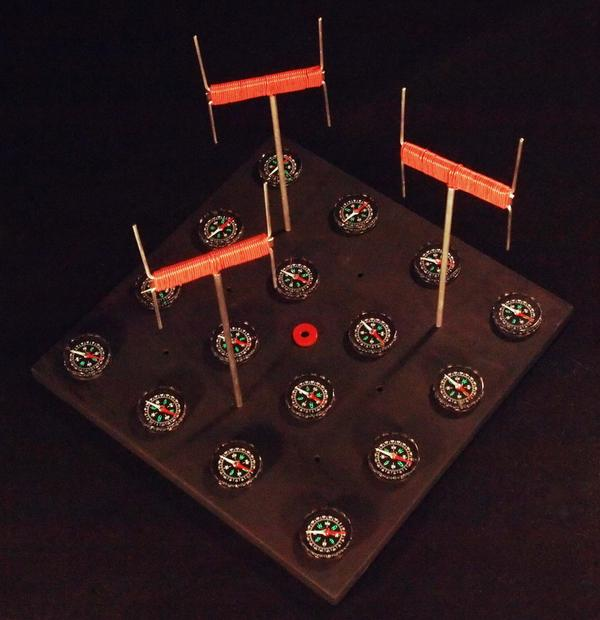 "Jonathon Keats' piece ""Air Traffic Control Towers For Birds (Experimental Prototype)."" (Courtesy)"