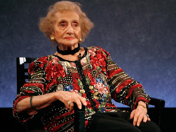 Ruth Gruber attends a tribute organized in her honor, in New York City in February 2011.
