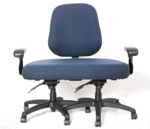 <p>This office chair was custom-built by a company called ErgoGenesis for a client who exceeded the 600-pound limit of its other chairs. It cost $1,800. </p>