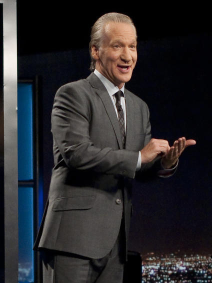 Comedian Bill Maher is the host of the HBO political commentary show, <em>Real Time With Bill Maher</em>.