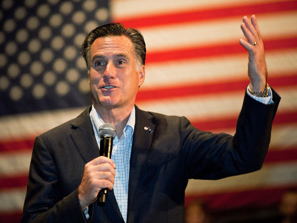 Republican presidential candidate Mitt Romney speaks during a town hall meeting Saturday in Charleston, S.C. Romney is hoping to gain conservative support following the endorsement of South Carolina Gov. Nikki Haley.
