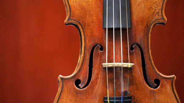 "In a double-blind test by professional violinists, most couldn't determine — by sound alone — which violin was an original Stradivarius and which was a modern instrument. Above, a 1729 Stradivari known as the ""Solomon, Ex-Lambert."""