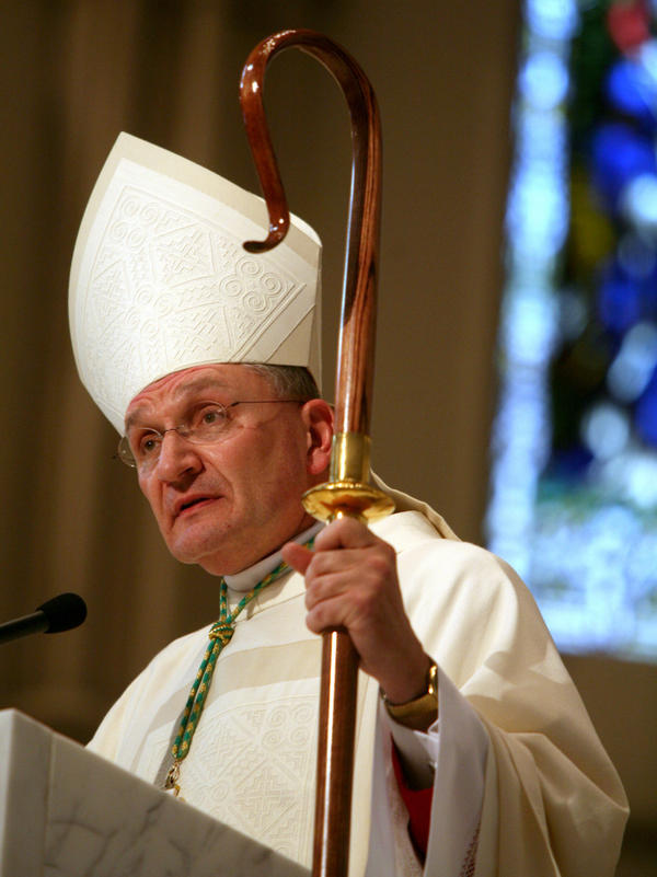 """In reaction to the recent contraceptive mandate, Bishop David Zubik of the Diocese of Pittsburgh <a href=""""http://www.npr.org/2012/02/02/146265425/u-s-catholic-bishops-take-stand-against-birth-control-rules"""">tells NPR's Barbara Bradley Hagerty</a>, """"We can't comply and we won't comply. There's no way we can. It's a matter of conscience."""""""
