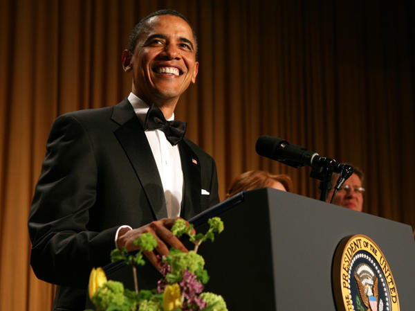 "President Obama has a chance to make fun of his opponents — and himself — when he addresses the annual White House Correspondents' Association gala later this month. Last year he joked about Donald Trump and the ""birther"" issue."