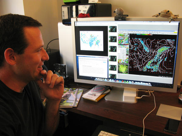 Cornell University's Andrew Farnsworth compiles data to forecast where birds are going and when they'll be there.