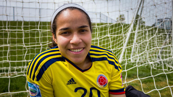<strong>Straight From Bogota:</strong> Orianica Velasquez is a junior at Indiana University in Bloomington.