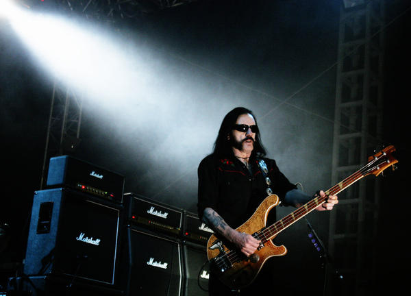 "Lemmy Kilmister immortalized the Marshall amp in the Motorhead song, ""Dr. Rock"": ""Chin up, shoulders back / You've got a body like a Marshall stack."""