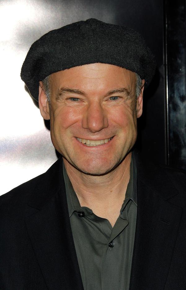 Jim Meskimen arrives at the premiere of <em>Frost/Nixon</em> in November 2008.