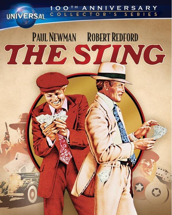 The cover of <em>The Sting</em>.