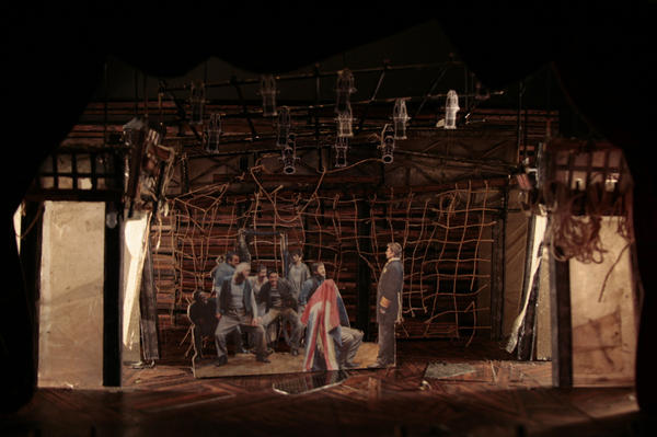 For <em>Peter and the Starcatcher,</em> set designer Donyale Werle wanted to suggest the found-object serendipity characteristic of kids at play.