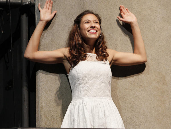Fawn Ledesma stars as Juliet in the Intiman's production of <em>Romeo and Juliet</em>, one of four plays being put on for the festival.