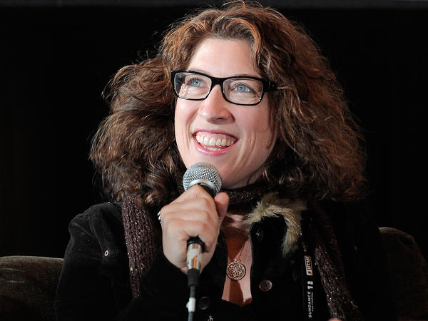 Director Lauren Greenfield, shown here at the 2012 Sundance film festival, filmed her documentary as the Siegels, once on top of the world, progressively fell on harder times.