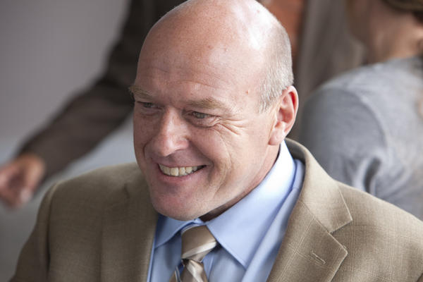 "Dean Norris plays DEA agent Hank Schrader in AMC's <em>Breaking Bad.</em> ""He's a good cop, he just hasn't put the pieces together yet,"" Norris says."