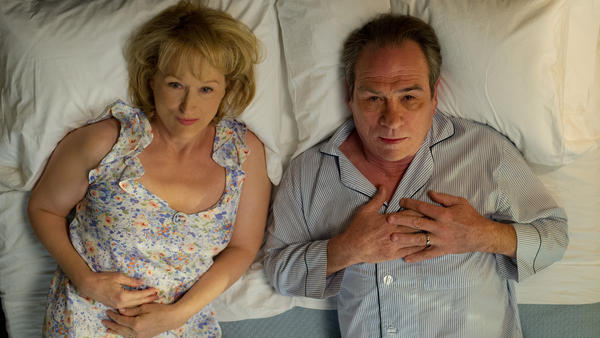 In <em>Hope Springs</em>,<em> </em>Kay (Meryl Streep) forces Arnold (Tommy Lee Jones) into a week of couples therapy after she gets tired of — among other things — sleeping in separate bedrooms.