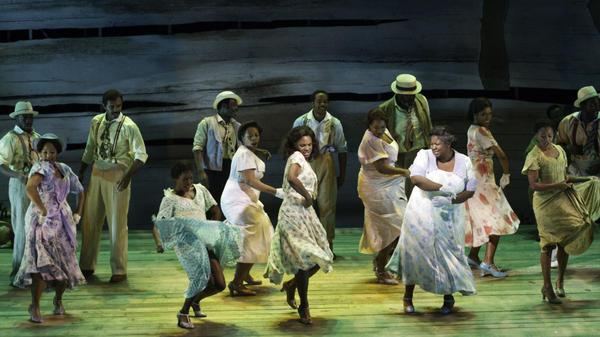 The women of <em>Porgy and Bess </em>dance.